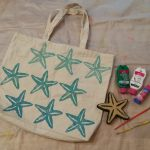 Nifty Gifties: Stamped Tote Bag