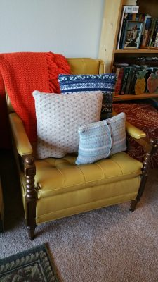 Sweater-vember: Sweater Pillows