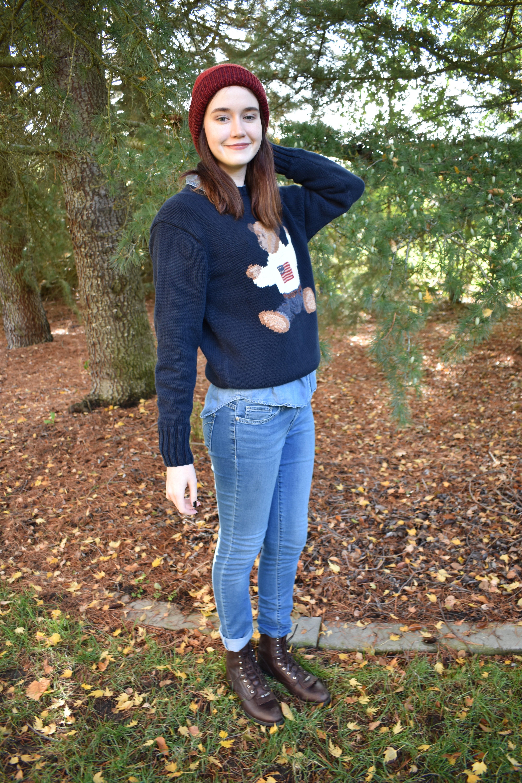 Fashion Challenge: Vintage Ralph Lauren Sweaters