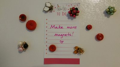 Nifty Gifties: Magnets from Vintage Bling