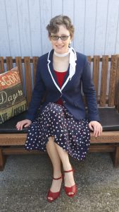 Vintage a la Thrift Store: Going Dotty
