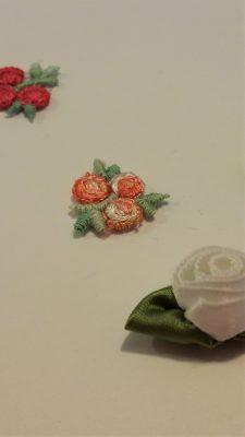 Flower Applique Earrings