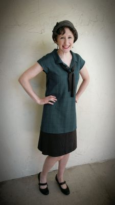 1920's Dress from Polo Shirt