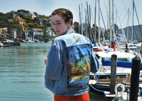 Make A Statement: Painted Denim Jacket