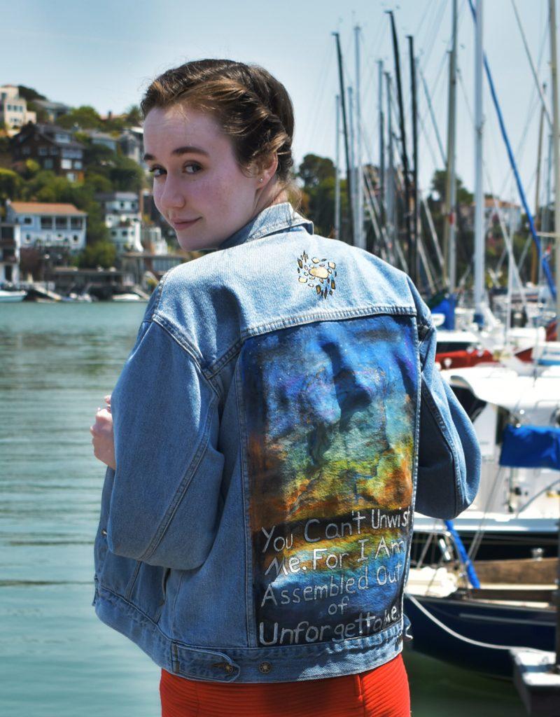 Make A Statement: Painted Denim Jacket