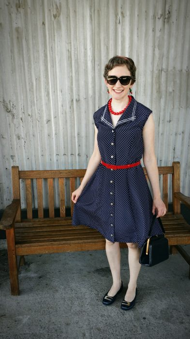 Retro 4th of July: Dress Refashion