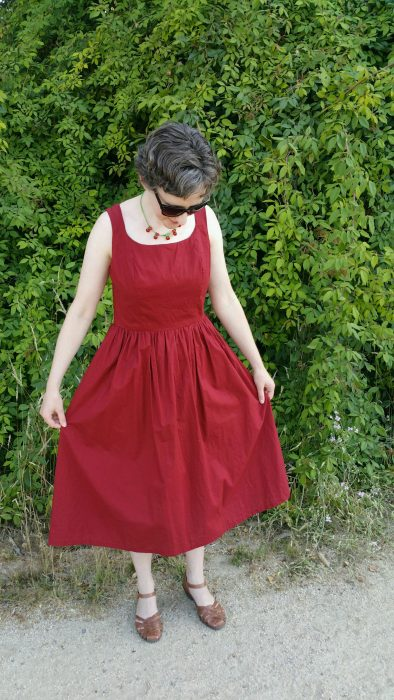 Sewing Journey: Fit & Flare Dress