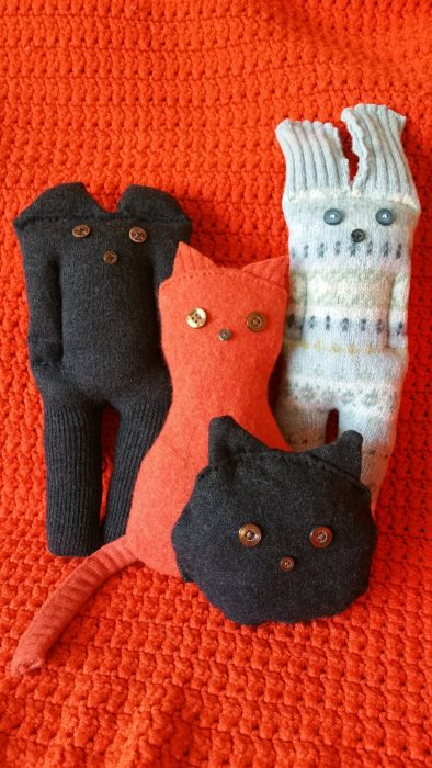 Cozy Crafts with Felted Sweaters