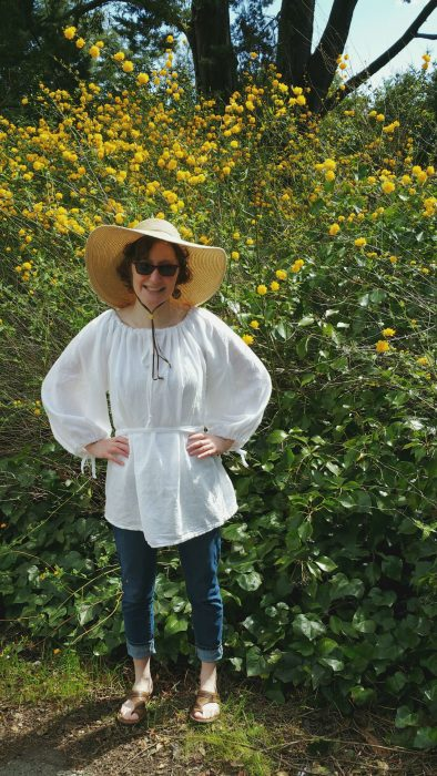 Shelter-in-Place Sewing: Tea Towel Tunic
