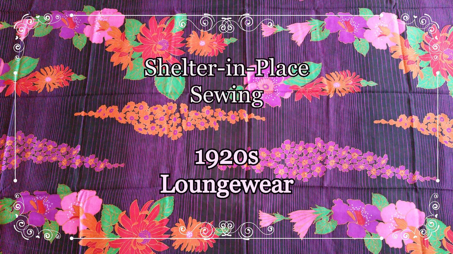 Shelter-in-Place Sewing: 1920s Loungewear!
