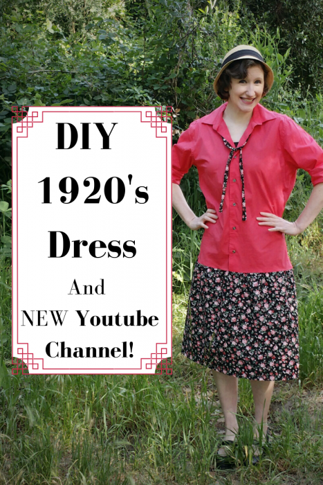 DIY 1920s Dress (and NEW Youtube Channel!)