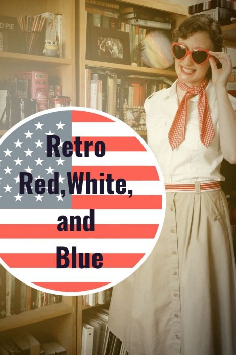 Retro Red, White, and Blue!