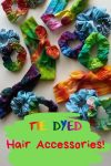 Tie Dyed Hair Accessories!