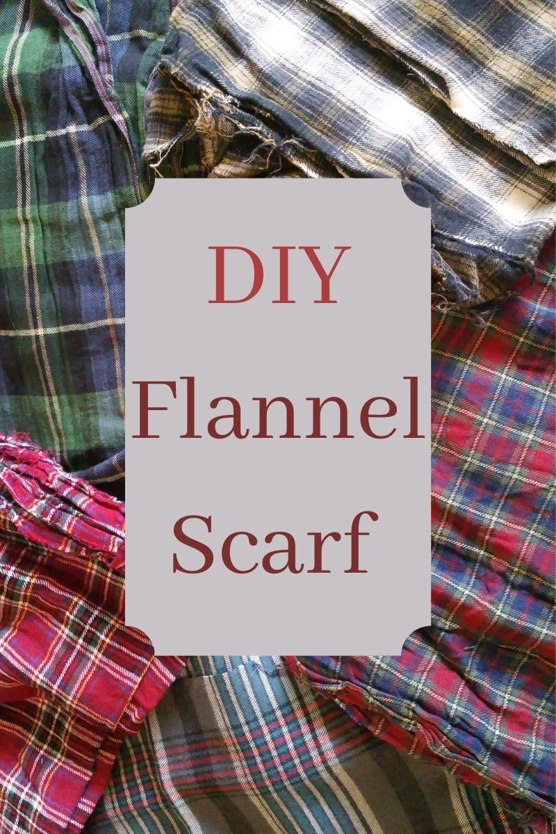 Plaid-vember Flannel Scarf