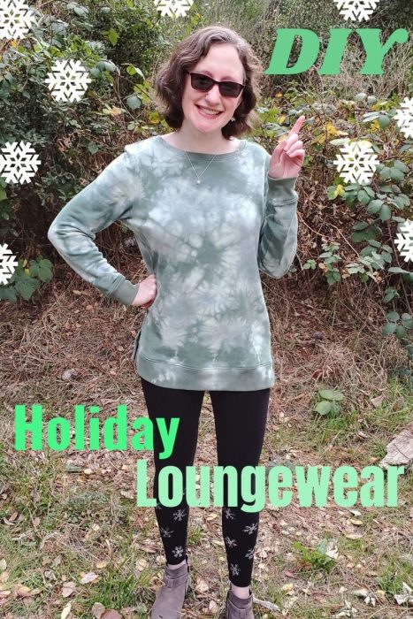 DIY Holiday Loungewear
