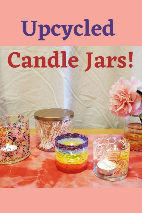 DIY Gifts: Upcycled Candle Jars