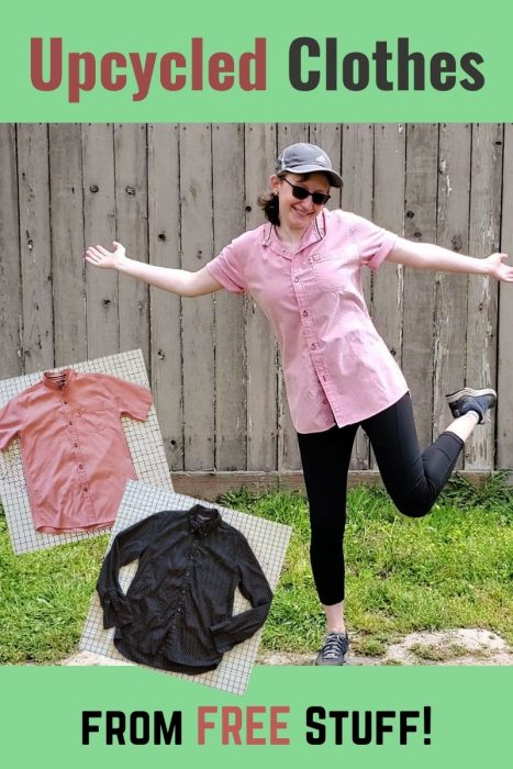 Upcycled Clothes from Free Stuff: Men's Shirts